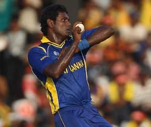 Sri Lanka concerned over Angelo Mathews' fitness