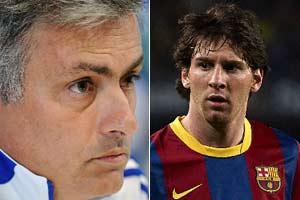 Messi, Mourinho quids in