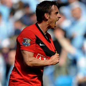 Juve testimonial for United veteran Neville