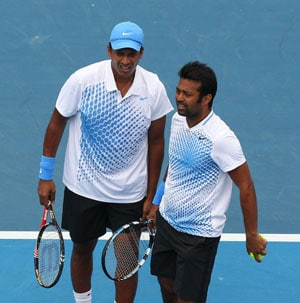 Paes-Bhupathi in semis; Bopanna-Qureshi ousted in Miami
