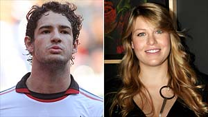Pato 'pictured with Berlusconi's daughter'