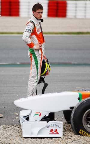 Sahara Force India's Di Resta in dark about his future