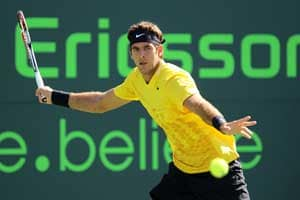 Juan Martin del Potro advances in Key Biscayne