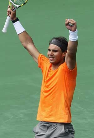Nadal reaches final at Indian Wells