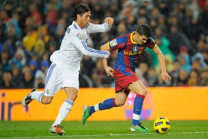 Barcelona, Madrid top paid teams in world sports