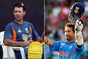 Tendulkar, Ponting centre stage in World Cup blockbuster