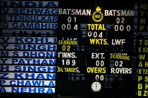India scoreboards still old-fashioned