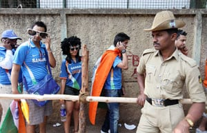 Tight security for India-Netherlands match