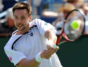 Soderling crashes out of Indian Wells