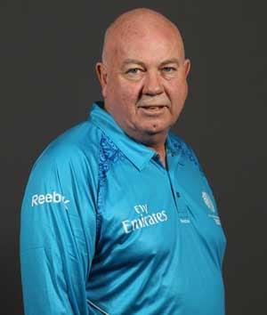 Umpire Steve Davis completes half-century of Tests