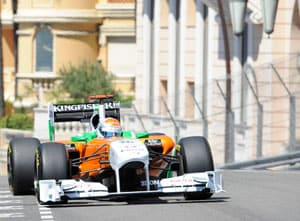 Sutil finishes 7th in the eventful Monaco GP