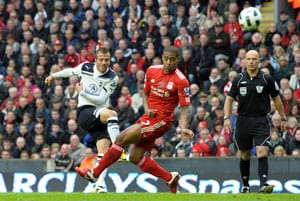 Spurs sink Liverpool to take control of race for Europe