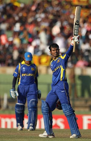 Sri Lanka hit fourth highest ODI partnership