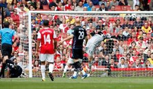 Bent brace helps Villa down Arsenal