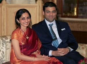 Viswanathan Anand becomes a father