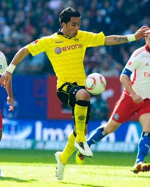 Dortmund without Barrios for Freiburg clash
