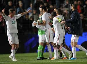 Lille in French Cup final