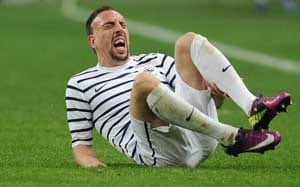 Bayern Munich relief over Ribery