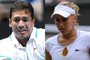 Bhupathi-Vesnina in mixed doubles quarter-finals