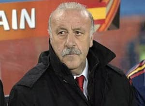 Spain's Del Bosque confirms signing 2-year deal