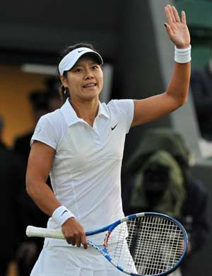 Li Na cruises into Wimbledon second round
