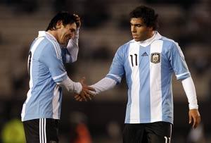 Messi, Tevez in Argentina Copa America squad