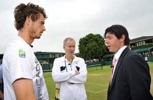 McIlroy meets Murray at Wimbledon
