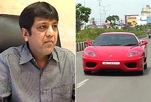Sachin Tendulkar's Ferrari bought by Surat Businessman