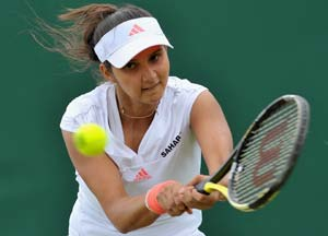 Sania Mirza goes up single rankings, down in doubles