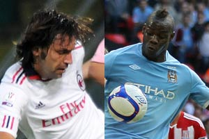 Pirlo and Balotelli recalled to Italy squad
