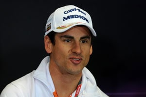Hungarian Grand Prix will be Adrian Sutil's 100th Formula One race