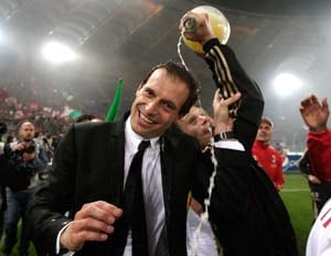 Allegri feels Tevez will make AC Milan the best