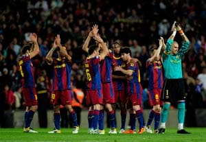 Barcelona plan Spanish title party