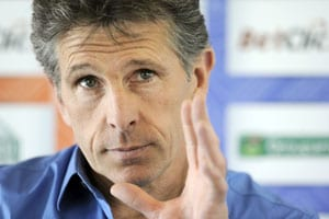 Puel on brink as Auxerre shatter Lyon's title hopes