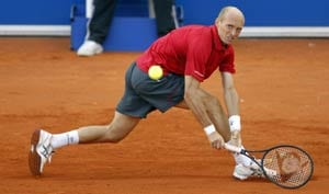 Davydenko upset by German wild card in Stuttgart