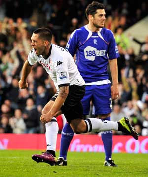 Dempsey's double downs Bolton