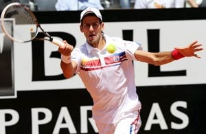 Djokovic extends 2011 unbeaten streak in Rome
