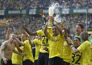 Borussia Dortmund crowned German champions