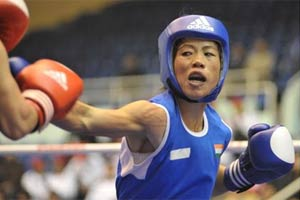 Marykom leads record number of eight Indians in semis of Asian women boxing