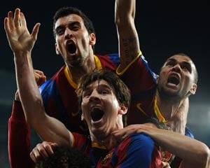 Barca the team to beat in Champions League