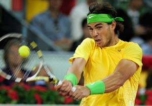 Nadal worried about knee heading into clay season