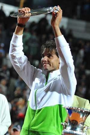Djokovic run won't last forever, says Nadal