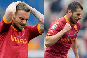 Roma pair out of league run-in