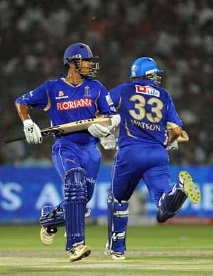 Statistical Highlights: Rajasthan Royals vs Kochi Tuskers Kerala