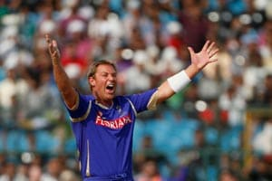 Warne bows out of cricket on a low
