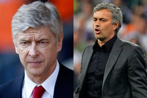 Jose Mourinho calls Arsene Wenger 'failure specialist' as race for English Premier League title gets closer