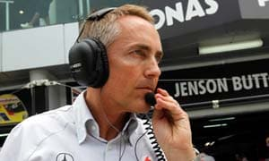 McLaren team chief admits to pressure of the job