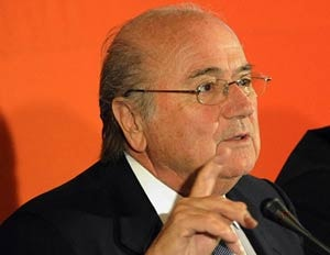 Blatter vows to restore FIFA's reputation
