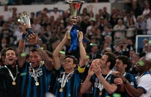 Inter beat Palermo to lift Italian Cup