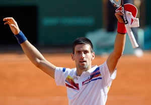 Djokovic brushes aside Gasquet in fourth round